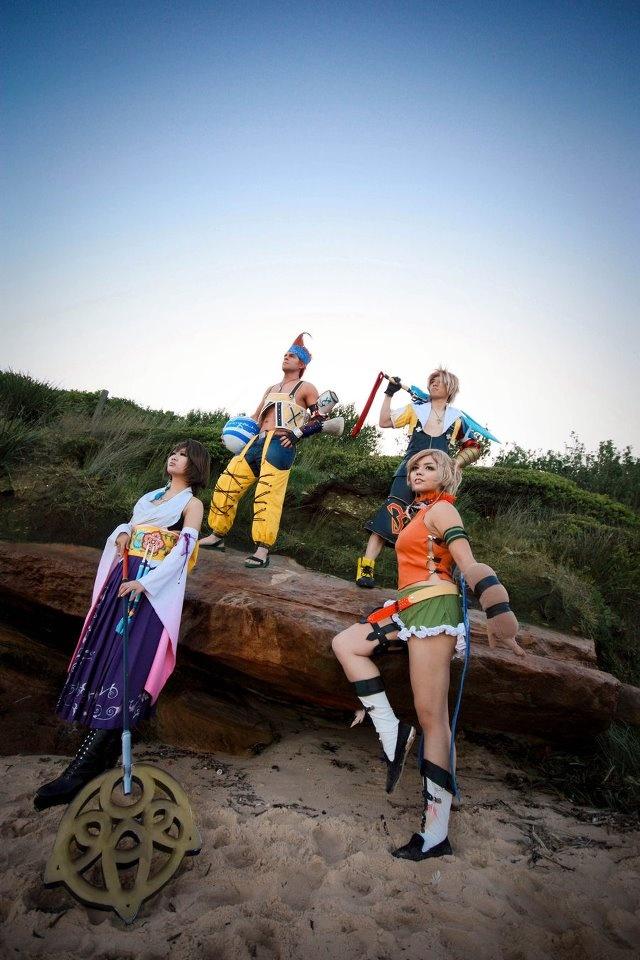 Final Fantasy... Group cosplay