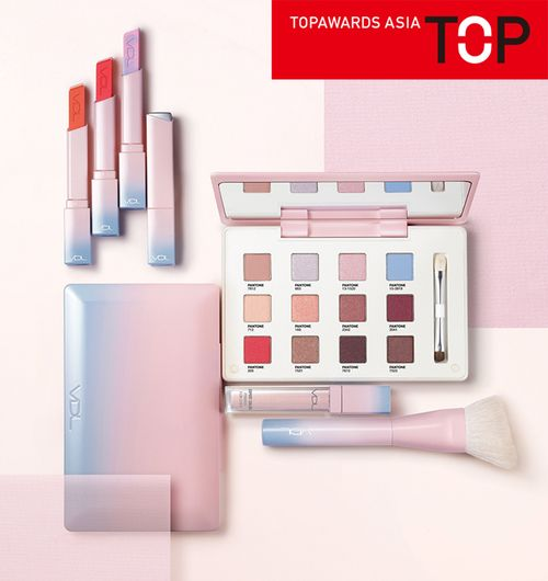 Topawards Asia - VDL + PANTONE Wellness in Color makeup South Korea