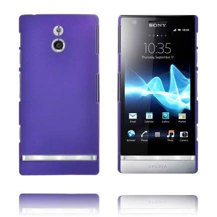 Hard Shell (Violetti) Sony Xperia P Suojakuori