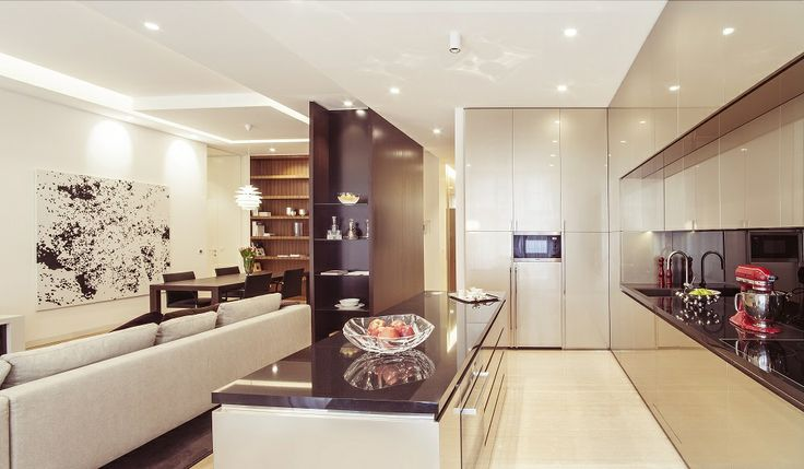 ...kitchen, living room...