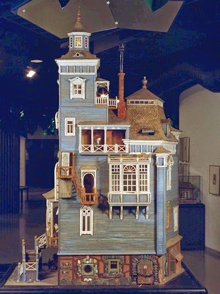 dollhouses, Moomins, children's literature, Museum of Childhood