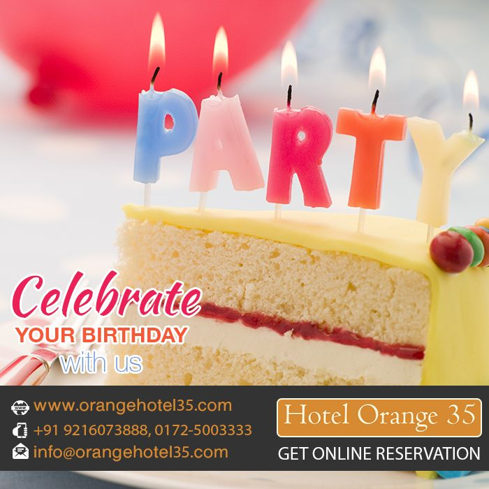 Birthdayparty Party Events Celebrations Hotel Chandigarh