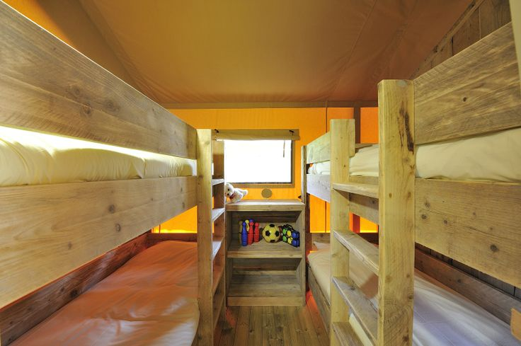 Kids will sleep well in these comfy bunk beds and will wake feeling refreshed and ready for more action tomorrow!
