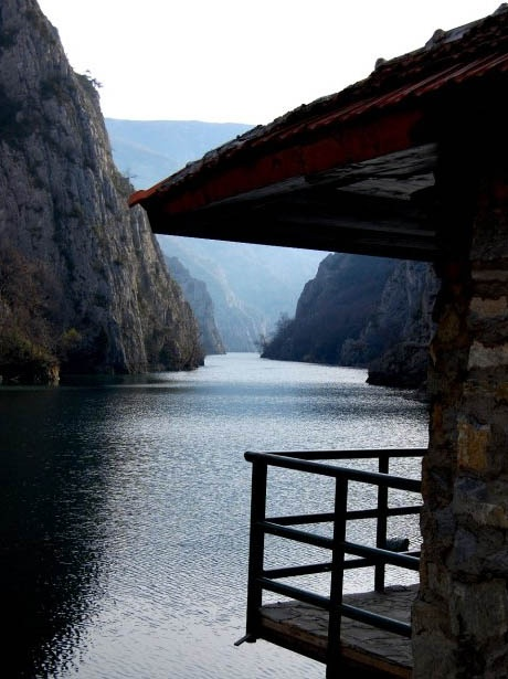 Canyon of Matka near Skopje