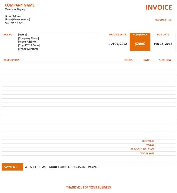 Graphic Design Invoice Template Invoice Template Professional Graphic Design Invoice Design Template