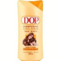 Dop Shampoo Different Flavors 400 ml from France (1 bottle, Oeufs) *** Click image for more details.