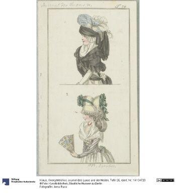 Journal des Luxus und der Moden, Tafel 26, September 1793.