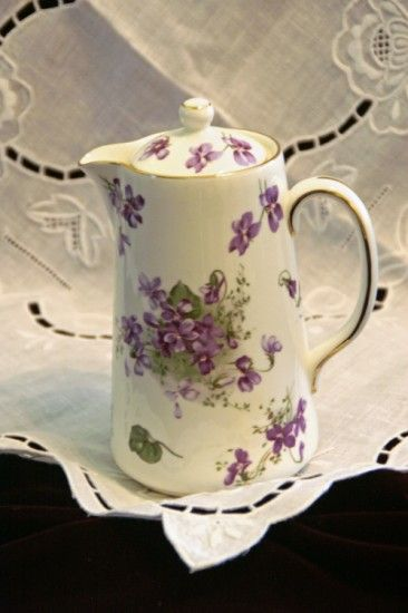 Hammersley Victorian Violets Syrup Pitcher  A lovely little pitcher available at Cottage Violets