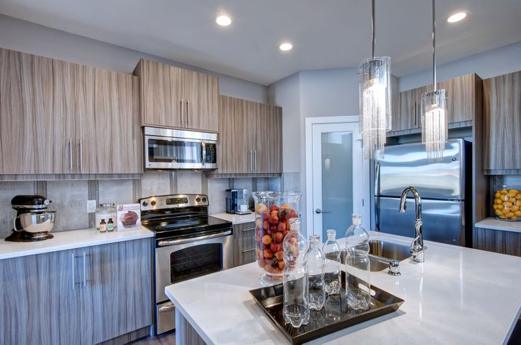 Kitchen design from our Roosevelt showhome in EvansRidge, Calgary