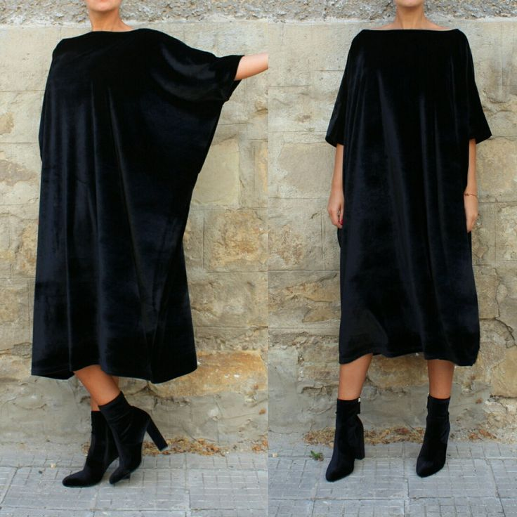 Lovely New Fall Winter 2016 / 2017 model --- super elegant velvet maxi dress !