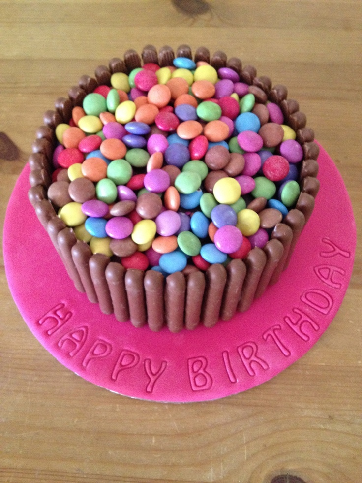 101 best images about Smarties cake on Pinterest