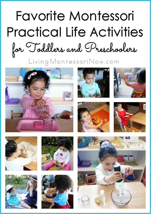 Favorite Montessori Practical Life Activities For Toddlers And