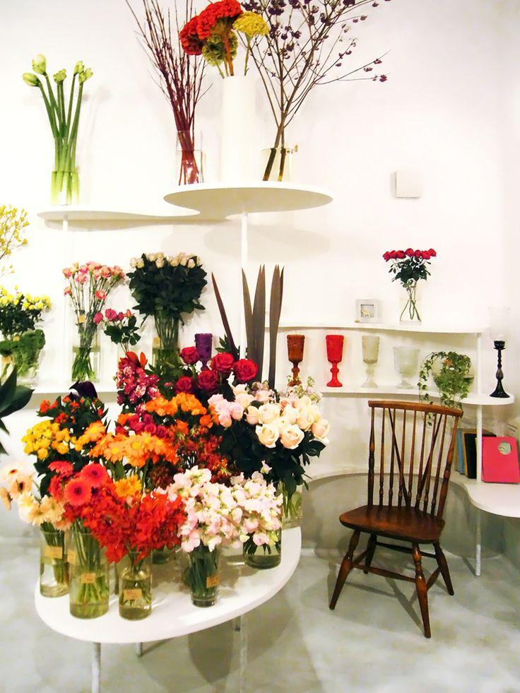 nadamoto yukiko architects: flower shop green life