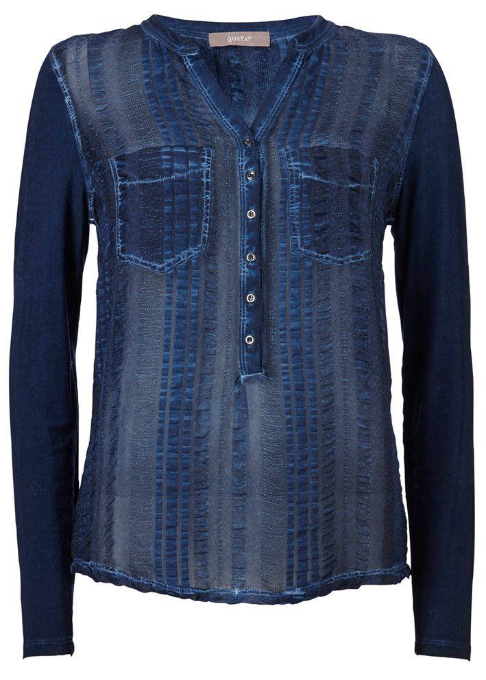 Gustav T-shirt 16705 blue graph – acorns