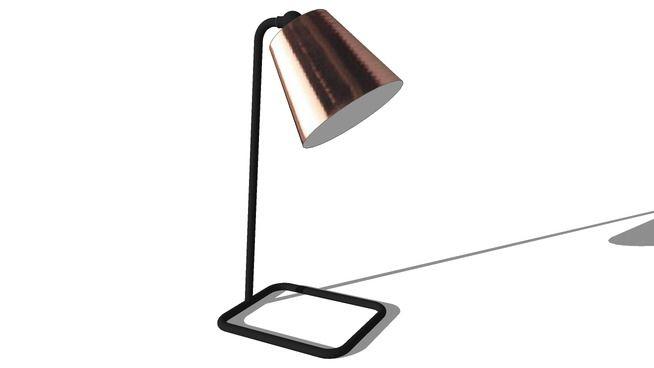 LAMPE WALTER, maisons du monde, ref 146407 prix 59,99 € - 3D Warehouse