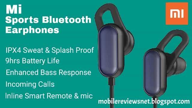 Mi Sports Bluetooth Earphones Price In India In 2020 Bluetooth Earphones New Earphone Earphone