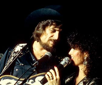 Waylon Jennings Jessi Colter sings together
