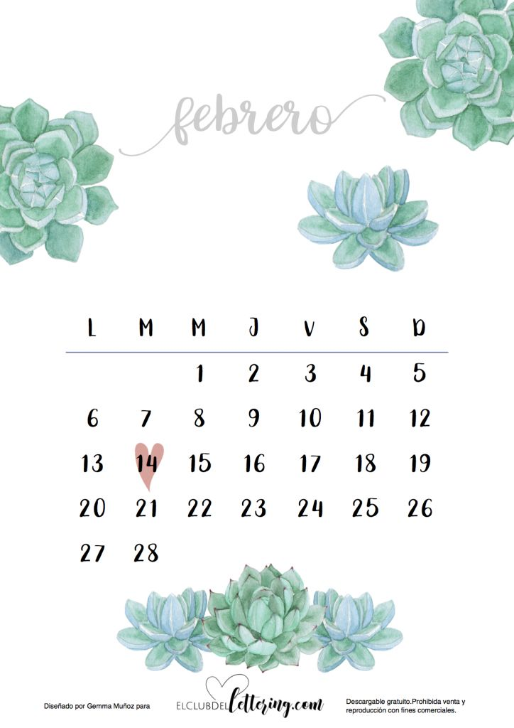 Más de 1000 ideas sobre Calendarios Imprimibles en Pinterest ...
