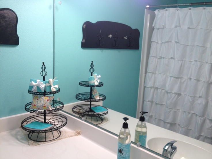 My New Tiffany Co. Bathroom, Man I Love It!