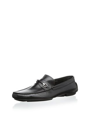57% OFF Bruno Magli Men's Pogia Bit Mocassin (Black)