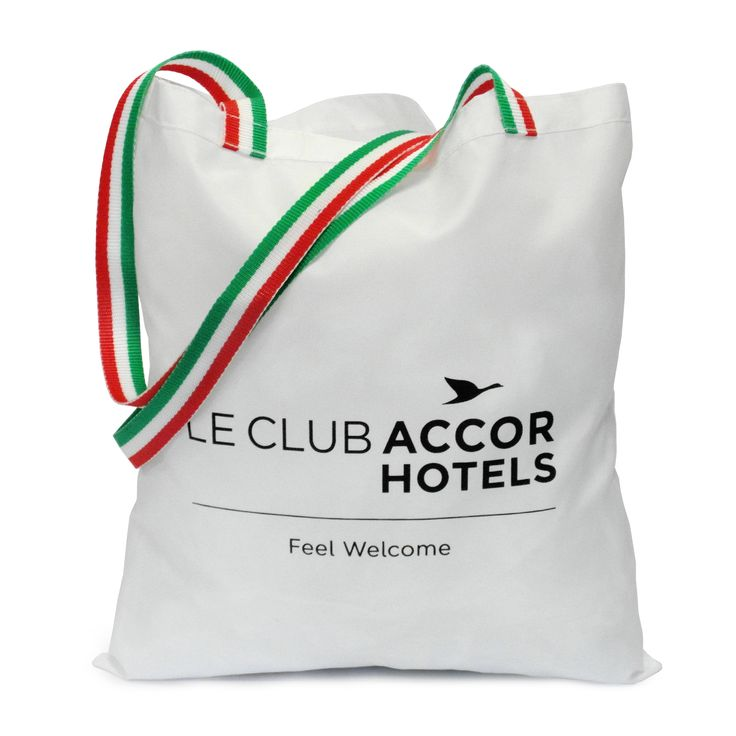Custom #shoppingbags for Le Club Accor Hotels