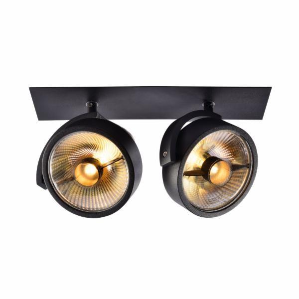 DM Lights Kalu 2 SPOT Noir 100€