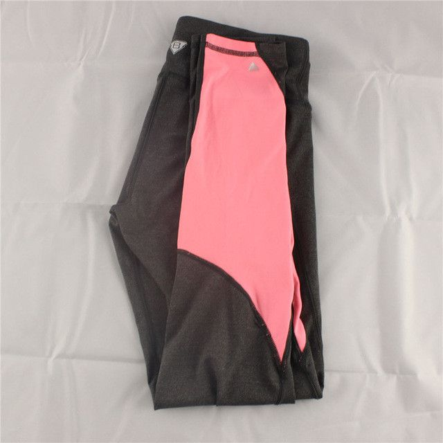 B.BANG Women Sport Leggings Elastic Patchwork Pants for Running Gym Fitness Dry Quick Workout Capris pantalones mujer