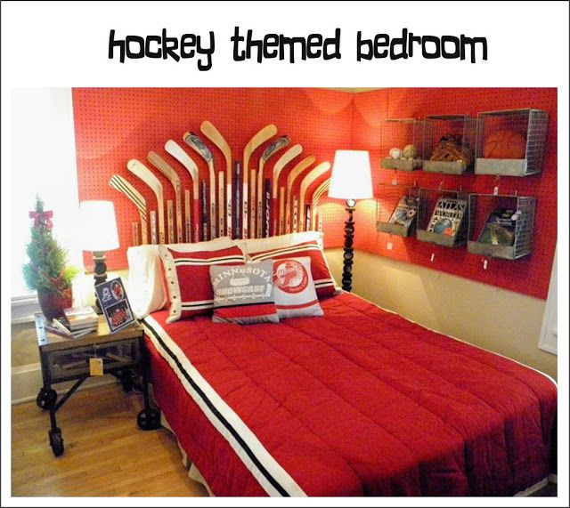 Boys Hockey Bedroom Ideas   Google Search