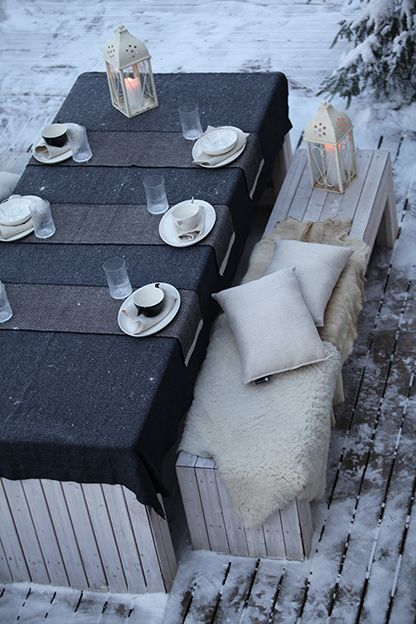 Outdoors, pihalla. www.pisadesign.fi