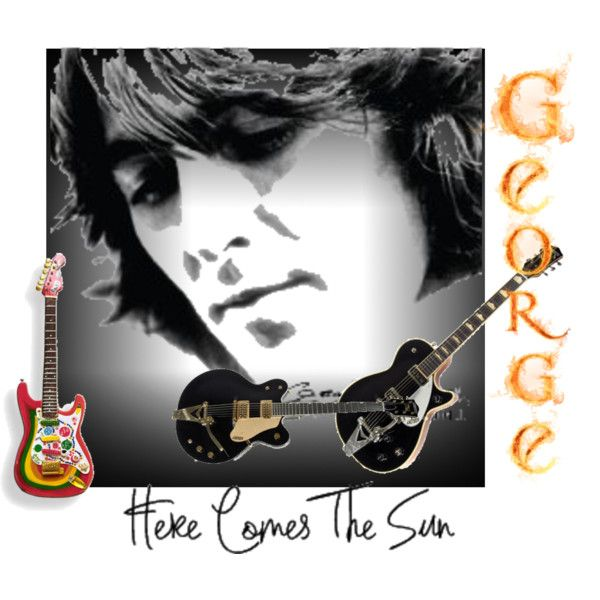 """George Harrison"" by interiorexpression on Polyvore"