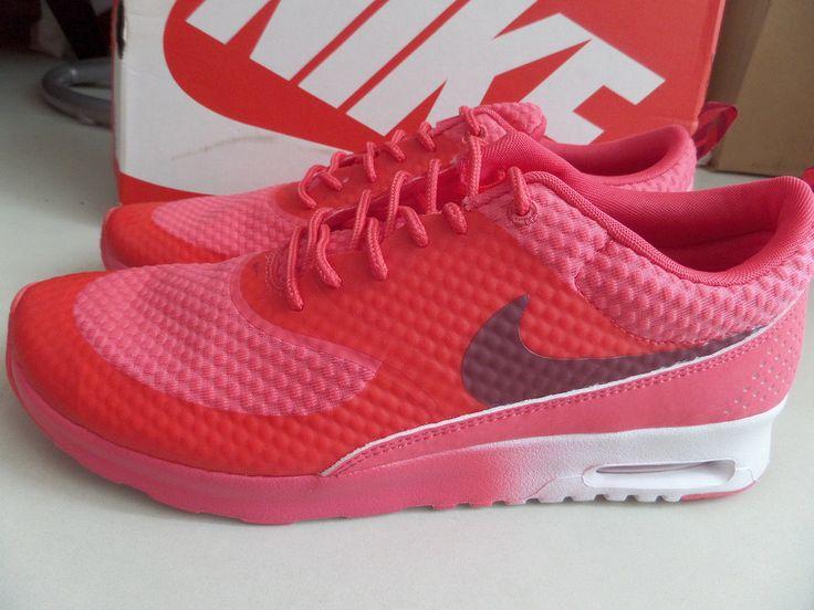Nike Thea Red Womens