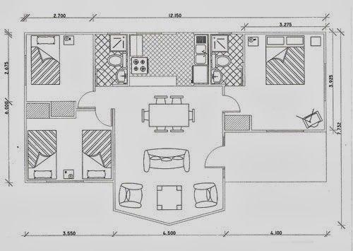 76 mejores im genes sobre planos en pinterest for Una casa di tronchi con garage