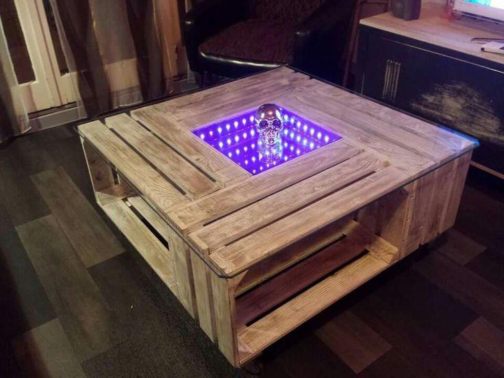 Pingl Par 102gab Sur Table Basse Caisse De Pomme Pinterest Caisses De Pommes Caisse Et