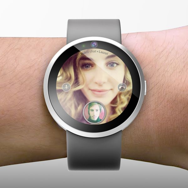 The possible Apple iWatch, the iCom?