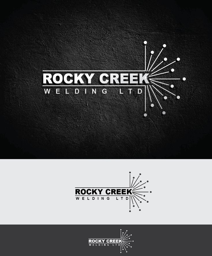 Logo Design by alizainbarkat for Rocky Creek Welding Ltd logo design - Design #4561404