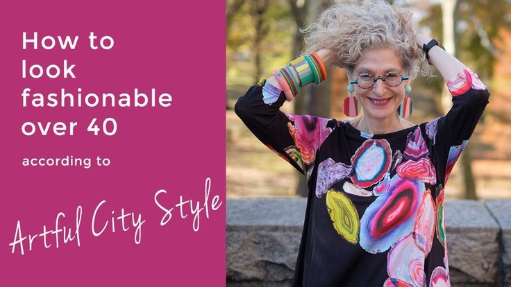 How to look fashionable over 40 - Interview with Dayle Artful City Style