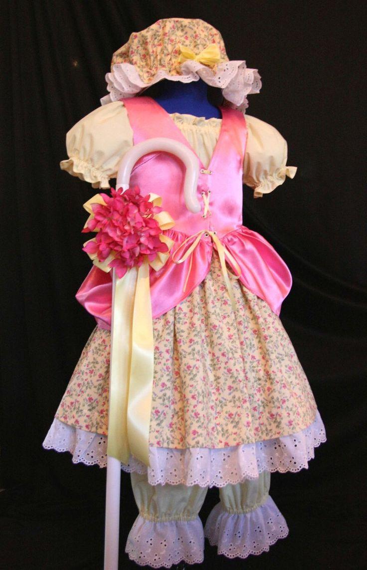 Little Miss MUFFET/Bo PEEP Costume Custom CHILD Size. $269.99, via Etsy.