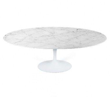 Eettafels : Tulip tafel marble 120*200cm