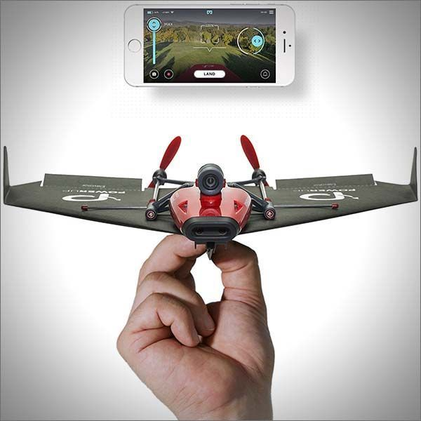 Power Up's new FPV Paper Airplane conversion kit will not only let you upgrade your paper plane to have a motor, but it also includes a first person view camera letting you see what your plane sees via your wi-fi connected smartphone or tablet. Control your plane with intuitive movements of your head using Google Cardboard viewer or switch to an auto-pilot mode.  #technology #fpv #drone #fly #plane #airplane #paperairplane #conversion #camera #googlecardboard