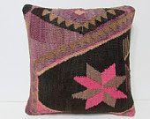primitive decoration 18x18 sofa cushion cover retro fabric turkish fabric sham sofa cushion knitting pillow cover bohemian pillow case 25740