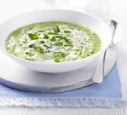 This zingy, no-cook soup is packed with four of your five-a-day