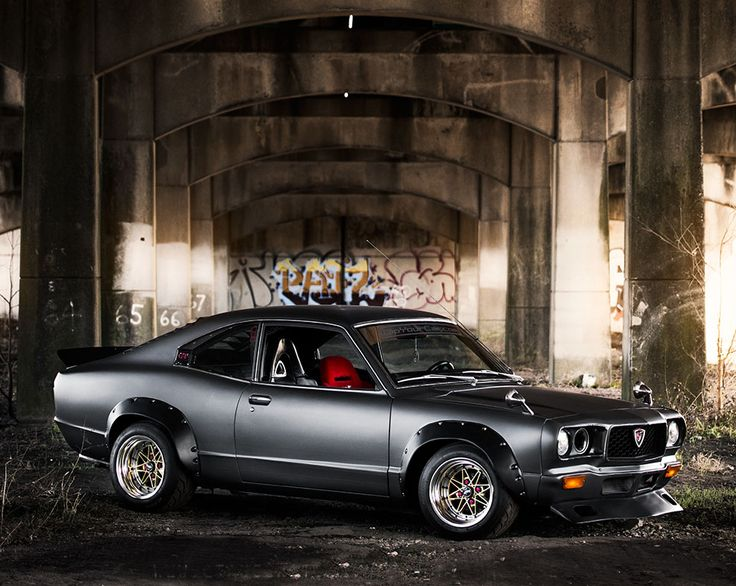 mazda-rx3-stance-9. Cool car, but does the missing light come as standard???????