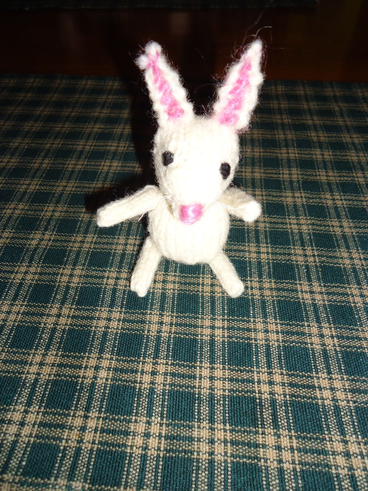 Easter bunny from the Marisol pattern