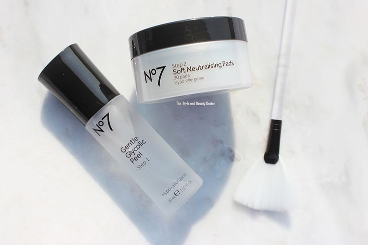 boots no 7 glycolic peel kit