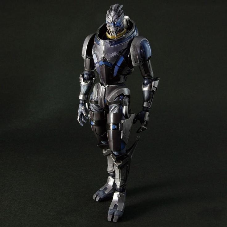 The BioWare Store - Garrus Vakarian Collectible Figure - Mass Effect - Brands