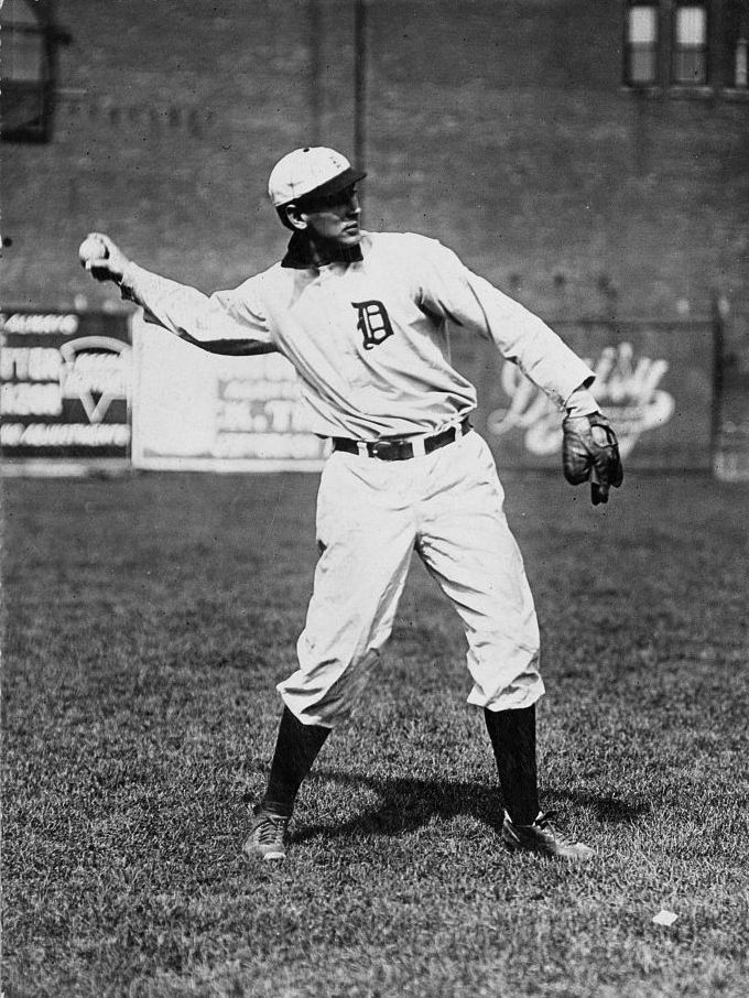 PITCHER: Detroit Tigers' Ed Summers, 1909.  Summers won 22 games in 1908 (also led the league in hit batsmen)  and 19 in 1909. He pitched three more years for the Tigers never reaching the same form. He was 0-4 in two World Series.