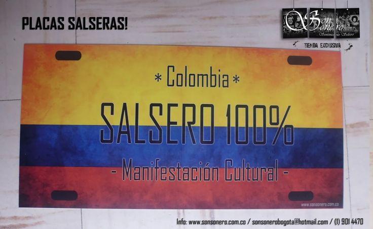 Foto: Placa Salsera - Colombia