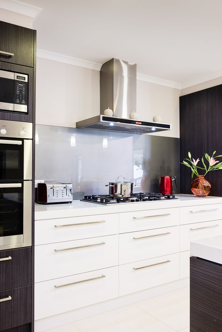 Thermo Fomed Holly Kitchen Doors in Satin Classic White. Visit our website for more inspiring design ideas www.albedor.com.au
