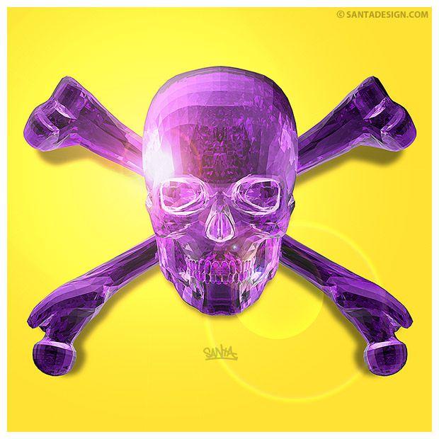 #Skull #Head #3D