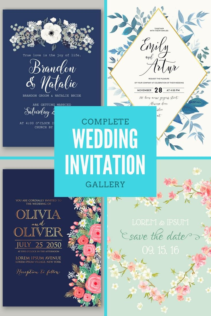 Professional Wedding Invitation Cards Format Online For Your
